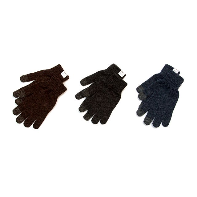 [G-30] TOUCH SCREEN NIT GLOVE / BLACK