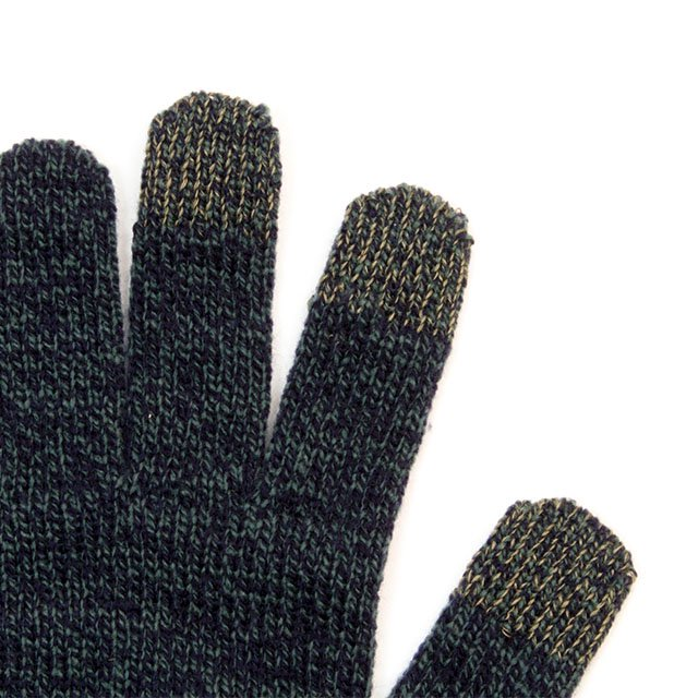 [G-30] TOUCH SCREEN NIT GLOVE / NAVY