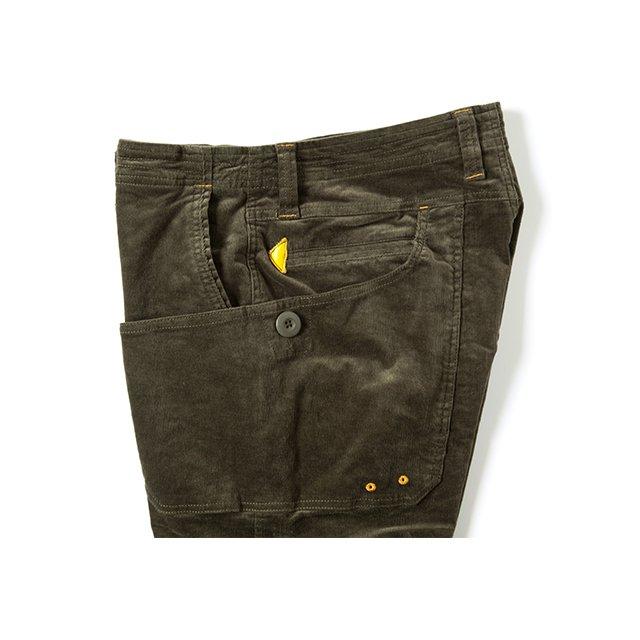 [GSP-14] CORDUROY WORK PANTS / OLIVE