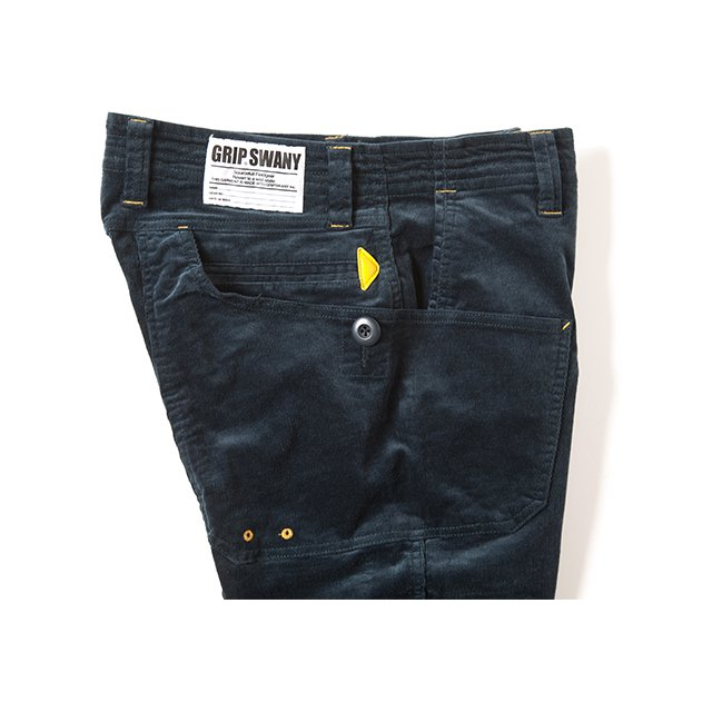[GSP-14] CORDUROY WORK PANTS / STEEL BLUE
