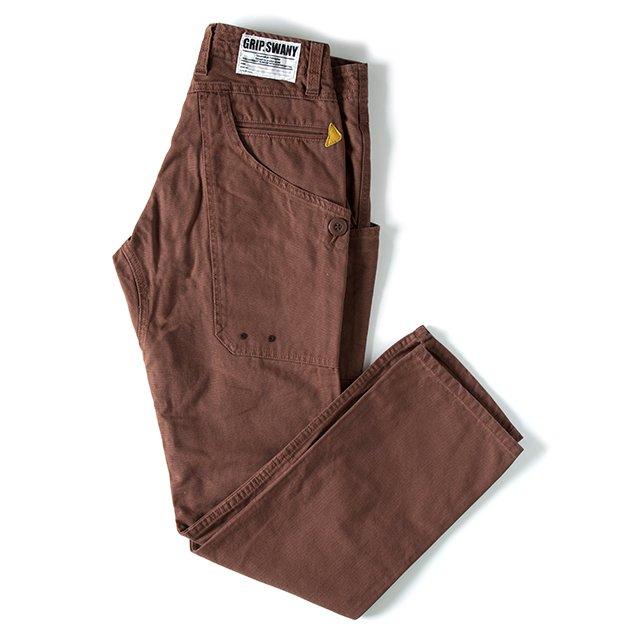 [GSP-15] WORK PANTS / DARK BROWN