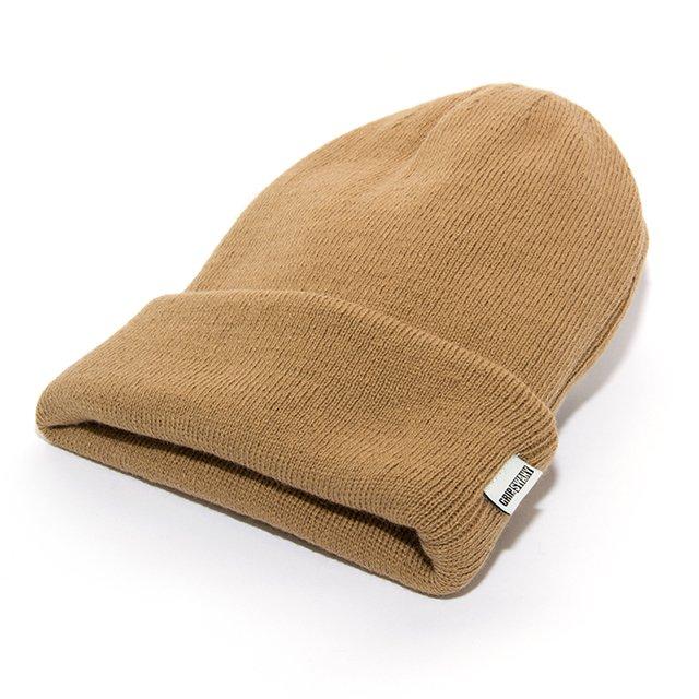 [GSA-33] NIT CAP / BEIGE