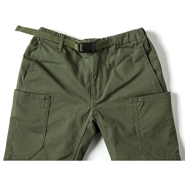 [GSP-40] CAMP PANTS  / MOSS GREEN