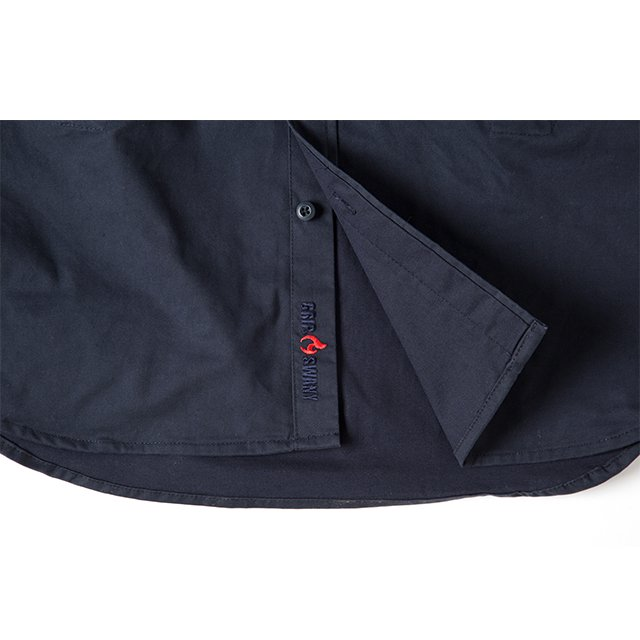 [GSS-22] FIREPROOF WORK SHIRT / NAVY