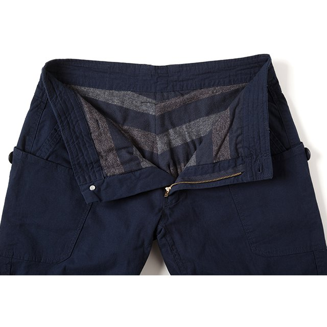 [GSP-57] FLANNEL LINING WORK PANTS / NAVY
