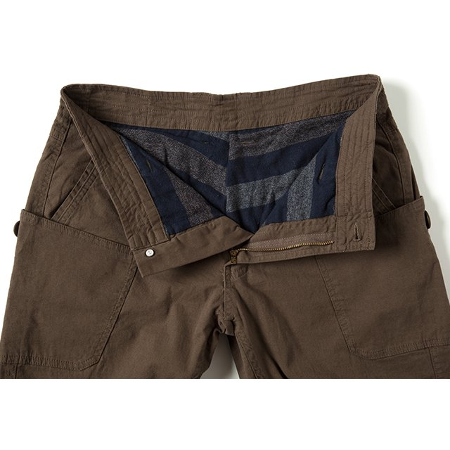 [GSP-57] FLANNEL LINING WORK PANTS / OLIVE