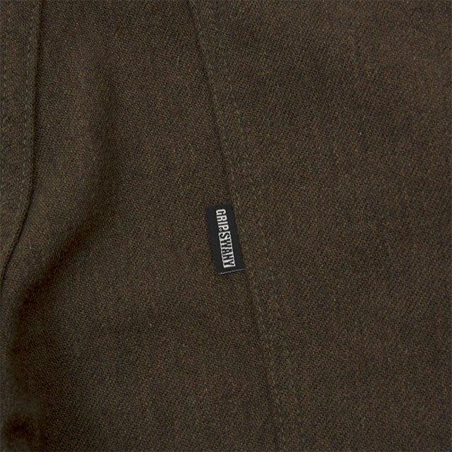 [GSP-12W] WOOL WORK PANTS / MOSS GREEN