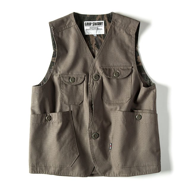 [GSV-02] FIREPROOF WORK VEST / DARK OLIVE