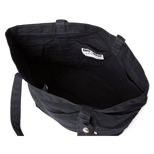 [GS-BG04] CAMP GEAR TOTE / BLACK