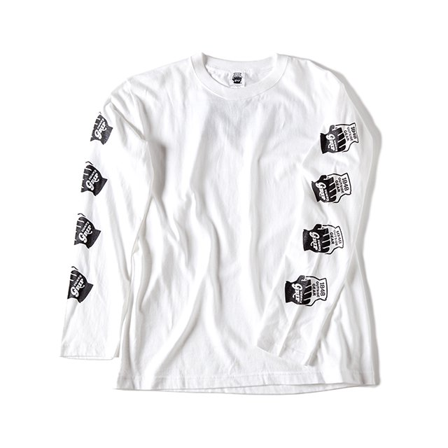 [GSC-24] LONG SLEEVE TEE / WHITE