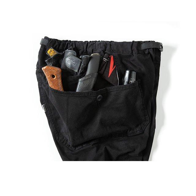 [GSP-55] JOG 3D CAMP PANTS / CHACOAL BLACK
