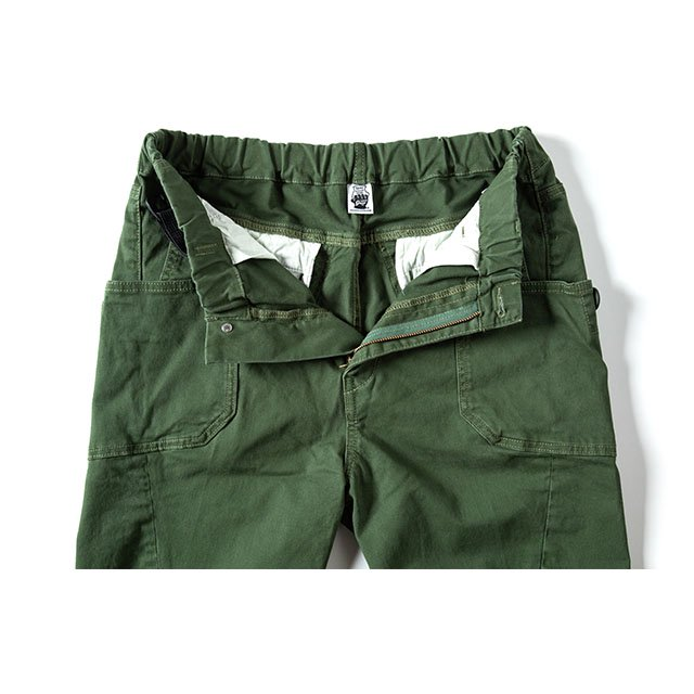 [GSP-55] JOG 3D CAMP PANTS / OLIVE