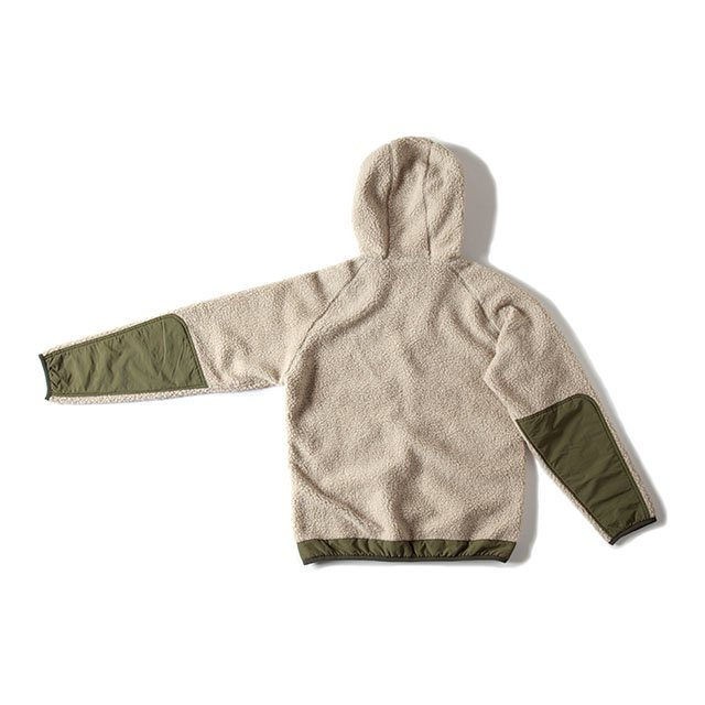 <img class='new_mark_img1' src='https://img.shop-pro.jp/img/new/icons5.gif' style='border:none;display:inline;margin:0px;padding:0px;width:auto;' />[GSC-25] FLEECE BOA PARKA / NATURAL