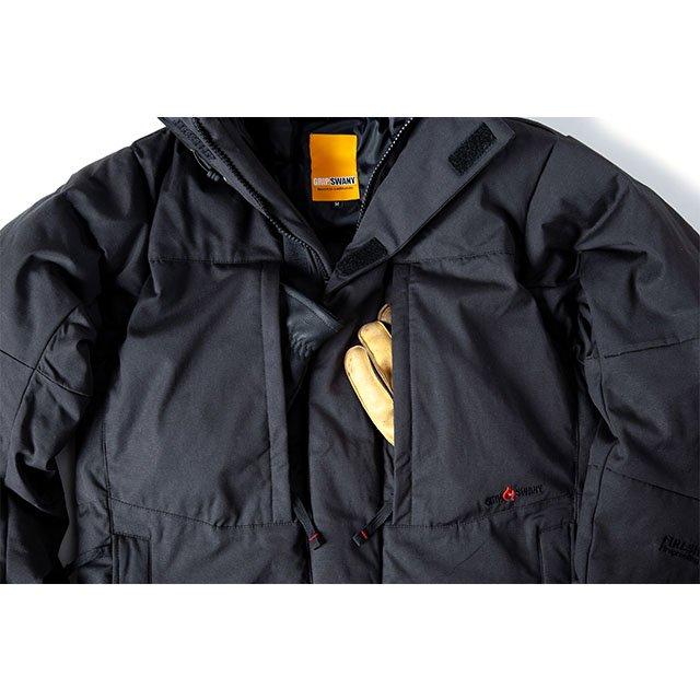 [GSJ-49] FIREPROOF DOWN JKT / BLACK