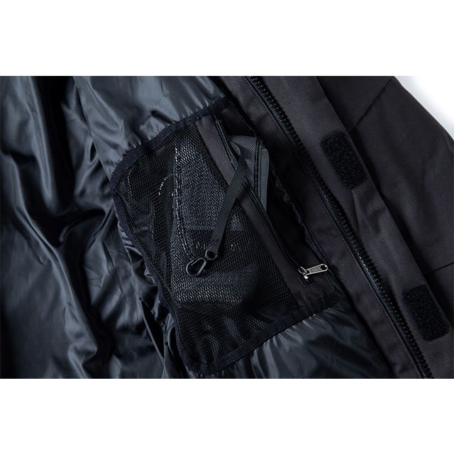 [GSJ-49] FIREPROOF DOWN JKT / BLACK