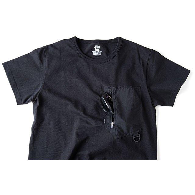 [GSC-27] GEAR POCKET T SHIRT / BLACK