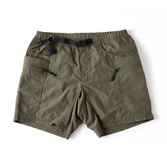 [GSP-45] GEAR SHORTS / DEEP GREEN