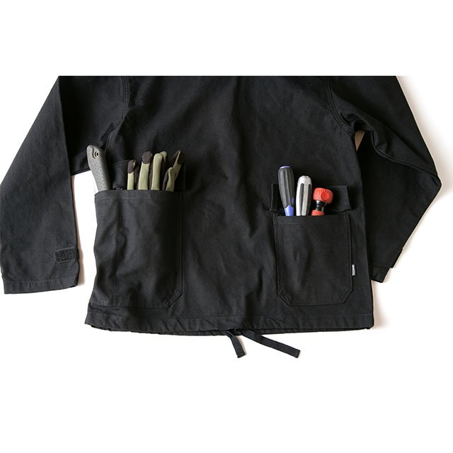 [GSJ-50] CAMP SALVAGE PARKA / BLACK