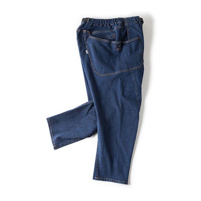 [GSP-59] JOG 3D WIDE CAMP PANTS / INDIGO
