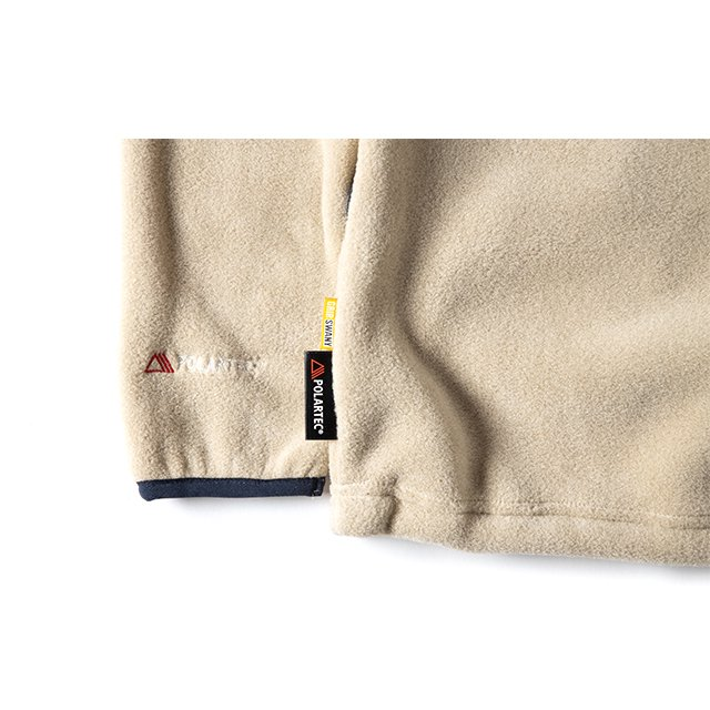 [GSC-30] POLARTEC CAMP POCKET FLEECE CREW / BEIGE