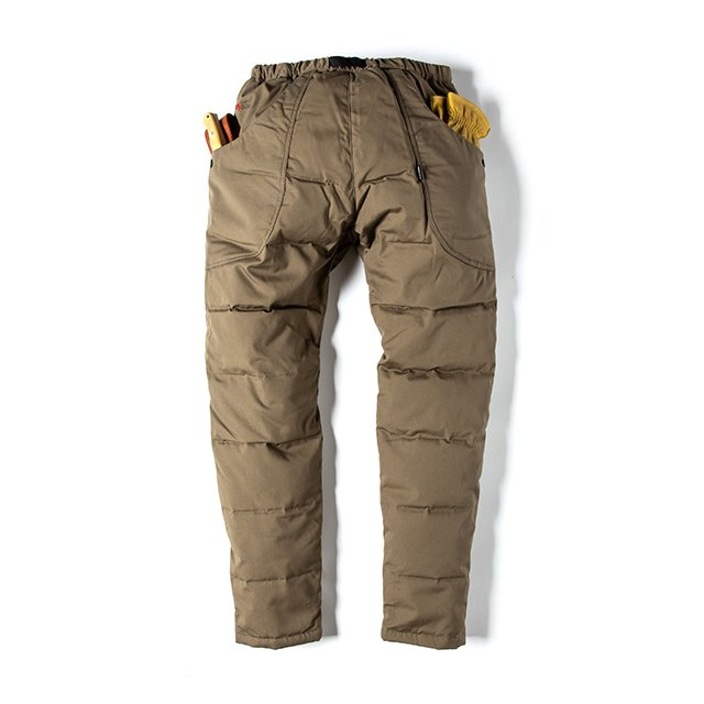 [GSP-56] FIREPROOF DOWN WORK PANTS / OLIVE DB