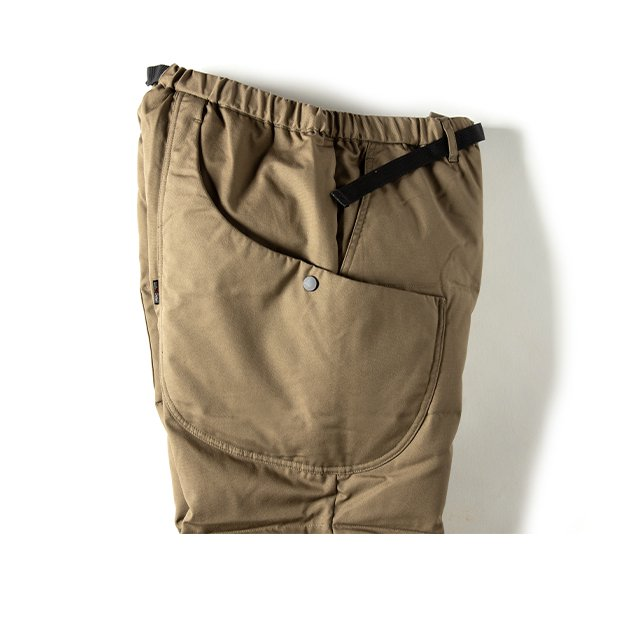 [GSP-56] FIREPROOF DOWN CAMP PANTS / OLIVE DB