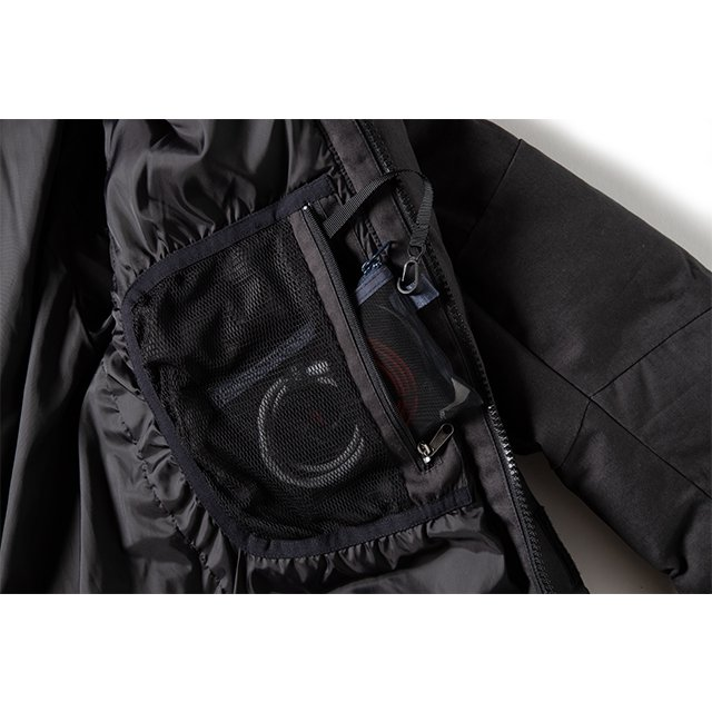 [GSJ-49] FIREPROOF DOWN JKT / CHARCOAL BLACK