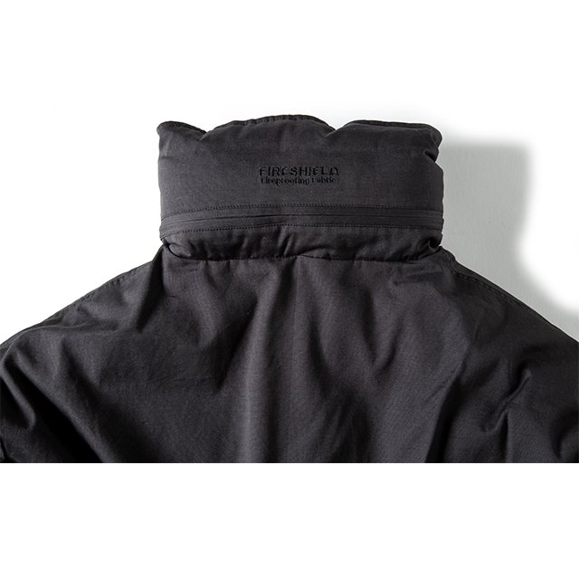 [GSJ-52] FIREPROOF MONSTER PARKA / CHARCOAL BLACK