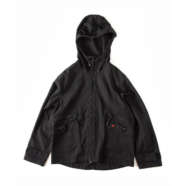 [GSJ-51] FIREPROOF CAMP PARKA / BLACK