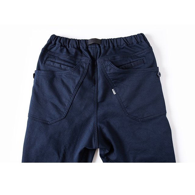 [GSP-64] JOG 3D LINING WIDE CAMP PANTS / DARK NAVY