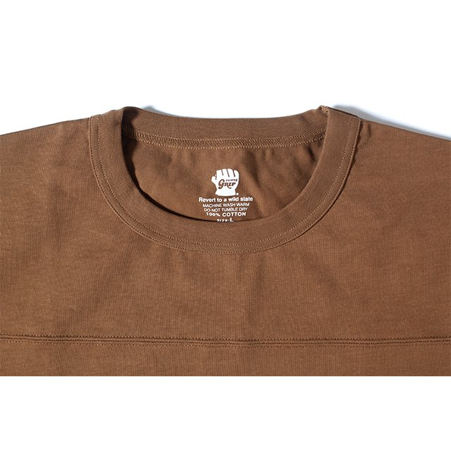 [GSC-23] CAMP POCKET T SHIRT / MD.BROWN