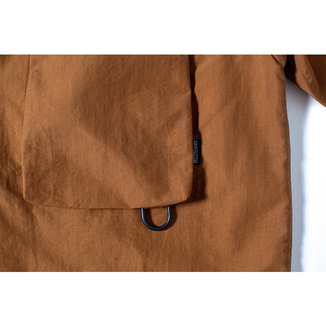 [GSS-30] SUPPLEX CAMP SHIRT / MD.BROWN