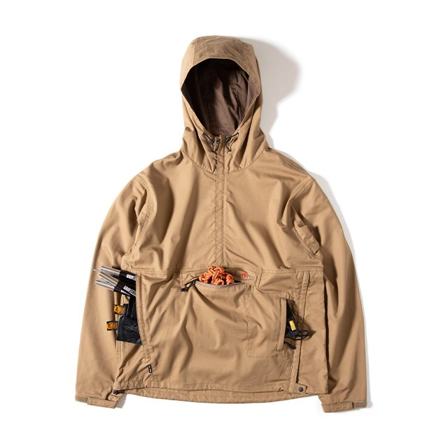 [GSJ-56] FIREPROOF GS PULLOVER / COYOTE BR