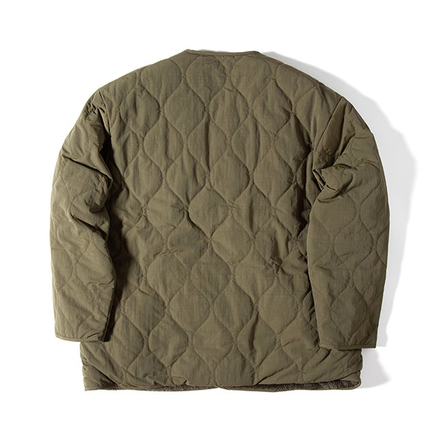 [GSJ-57] QUILT CAMP GOWN / OLIVE