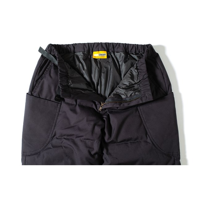 [GSP-67] FIREPROOF DOWN CAMP PANTS 2.0 WITH MOBILE POCKET / BLACK