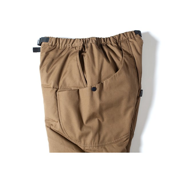 [GSP-67] FIREPROOF DOWN CAMP PANTS 2.0 WITH MOBILE POCKET / COYOTE BR