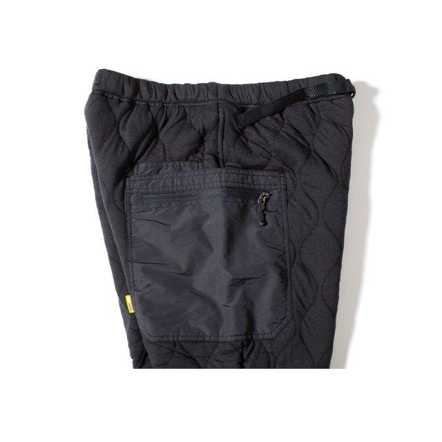[GSP-68] QUILT GEAR PANTS / INK BLACK