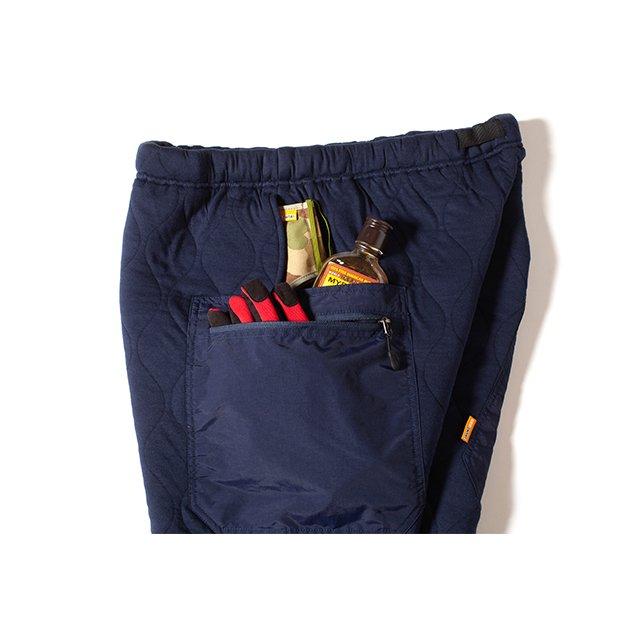 [GSP-68] QUILT GEAR PANTS / NAVY