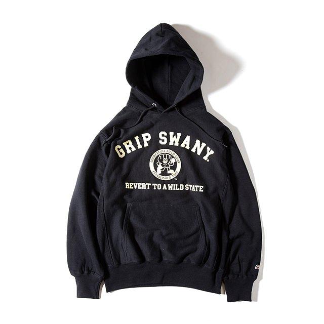 [GSC-32] SWANY BOY HOODIE / BLACK