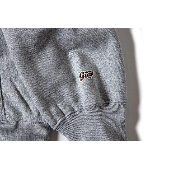 [GSC-33] GS LOGO HOODIE / GRAY