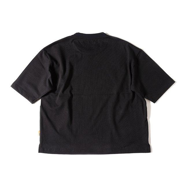 [GSC-35] CAMP POCKET T SHIRT 2.0 / INK BLACK