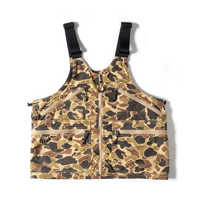 [GSV-05] GEAR BAG VEST / DUCK CAMO
