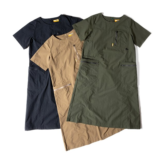 [GSW-01] W'S GEAR ONE PIECE / ALPHA OLIVE