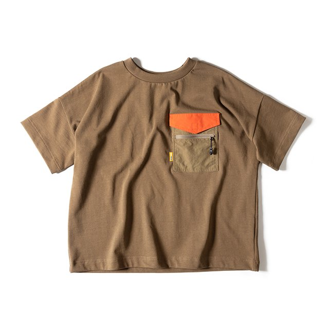[GSW-C01] W'S CAMP TEE SHIRT / DESERT COYOTE