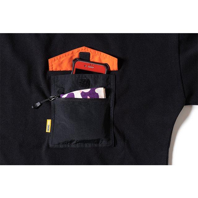 [GSW-C01] W'S CAMP TEE SHIRT / INK BLACK