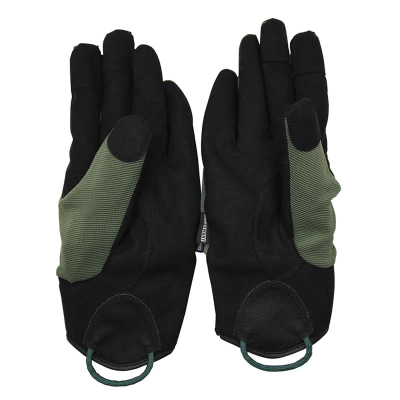 [G-5-04] GS WORK GLOVE BLACK / MOSS