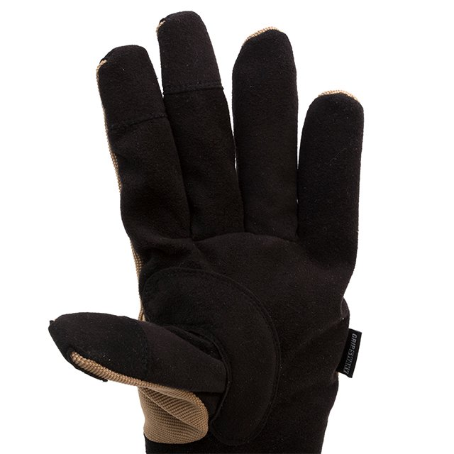 [G-5-05] GS WORK GLOVE BLACK / BROWN