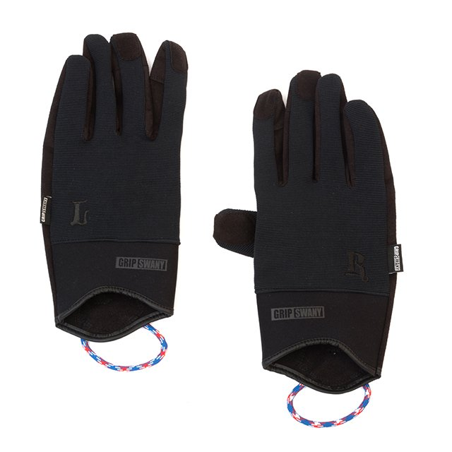 [G-5-07] GS WORK GLOVE BLACK / BLACK