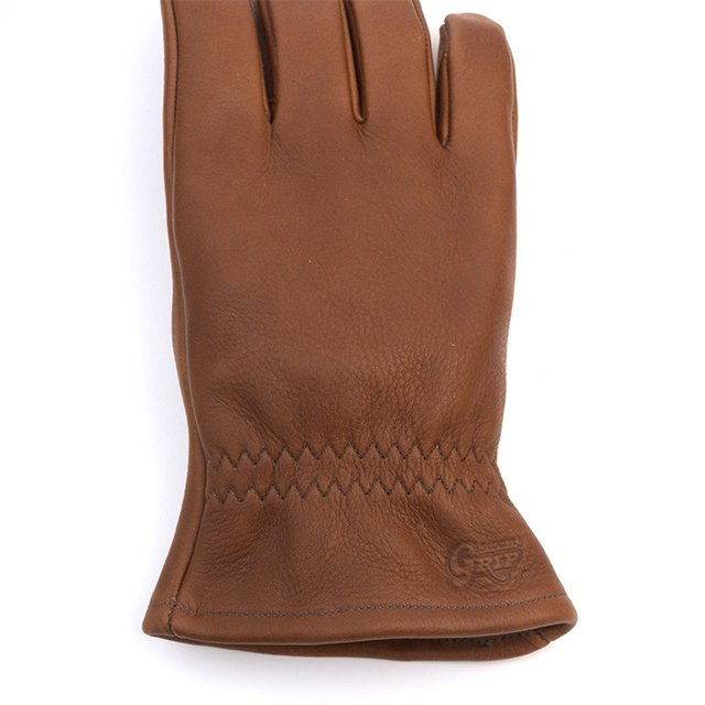 [G-50] LEATHER WORK GLOVE / BROWN