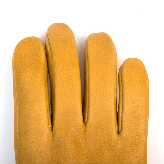 [G-50] LEATHER WORK GLOVE / CAMEL